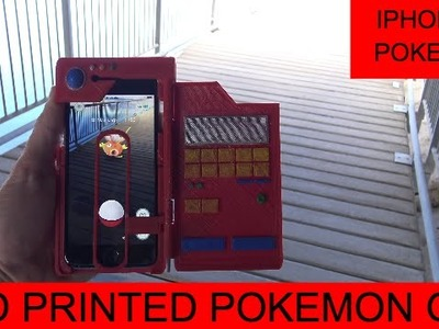 AMAZING iPhone 6 and iPhone 7 Pokedex Cover Pokemon GO (With Target) DIY Home Made Easy
