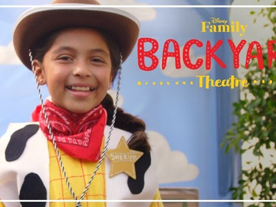 Backyard Theatre: Woody Costume DIY | Disney Family
