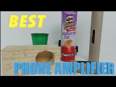 BEST DIY iPhone Amplified Speaker - which one works best as acoustic Amplifier