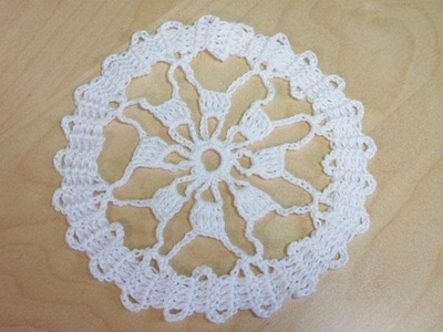 Crochet bruges lace circular motifs  - with Ruby Stedman