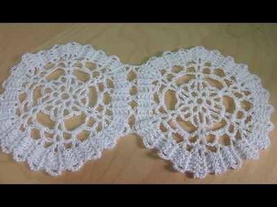 Crochet bruges lace hexagon - with Ruby Stedman