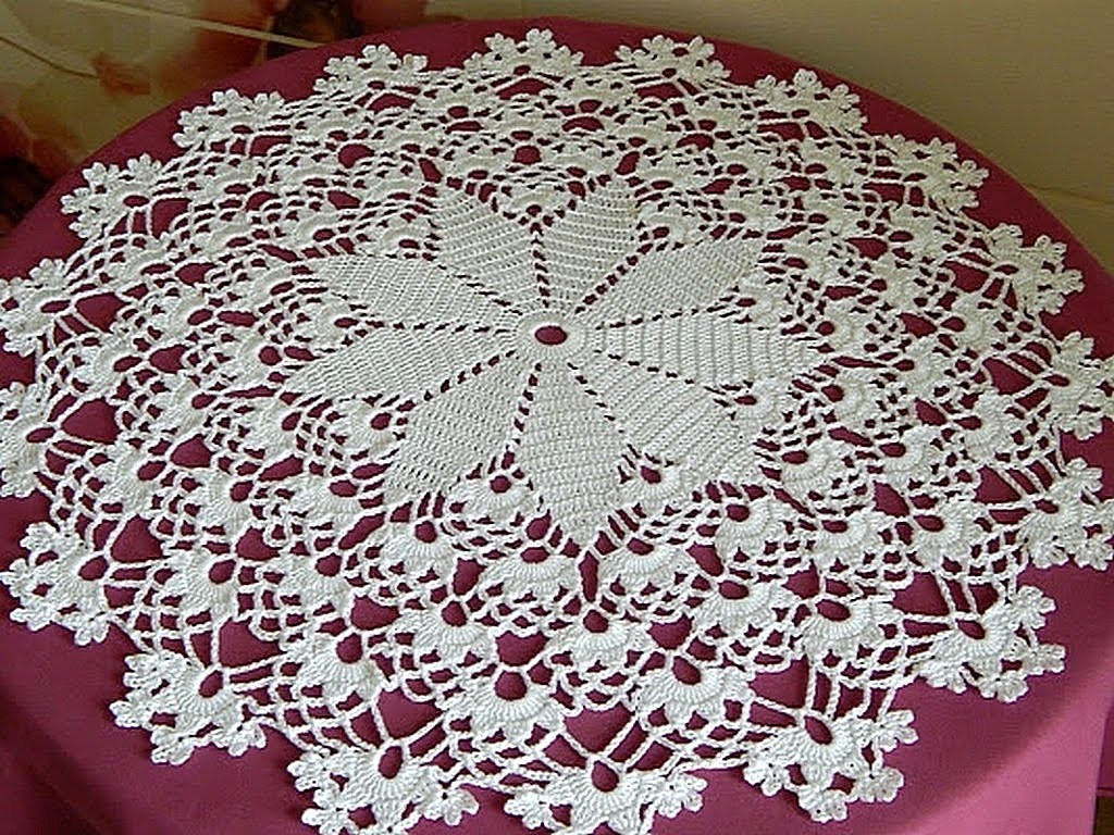 CROCHET  How to crochet doily tutorial 9-10 round part 3