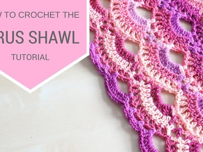 CROCHET: How to crochet the Virus shawl | Bella Coco