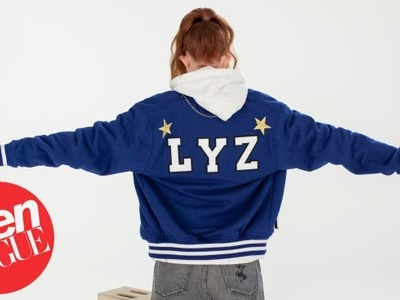 Designer Lyz Olko Shows Us How To DIY A Varsity Jacket | Haute Made | Teen Vogue