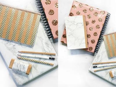 DIY Back To School Supplies | DIY Marble | DIY Katespade | EASY & CHEAP