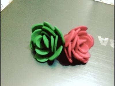 DIY - Crafts : How to make a Foam Flower + Tutorial .