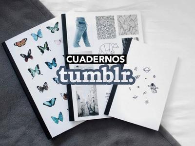 DIY DECORA TUS CUADERNOS TUMBLR.DIY NOTEBOOKS   Luciana Wk