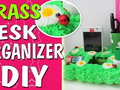 DIY DESK ORGANIZER. Back to School. Phone Holder. ROOM DECOR