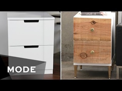 DIY Dress Up Your Dresser | Right at Home ★ Mode.com
