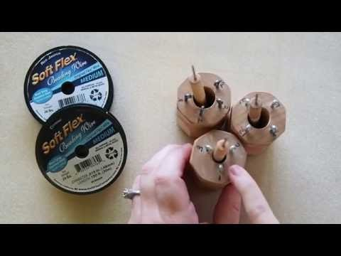 DIY Episode 15: Use Soft Flex® Beading Wire On A Knitting Spool To Make Jewelry