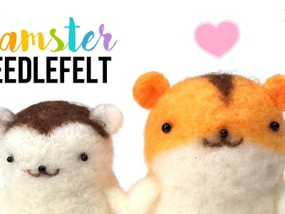 DIY Hamster Felt Kit!! WARNING - Extremely Cute Hamsters Inside This Video