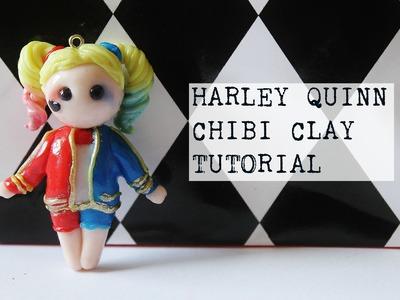 DIY Harley Quinn Chibi Clay Tutorial | PassionFruitDIY
