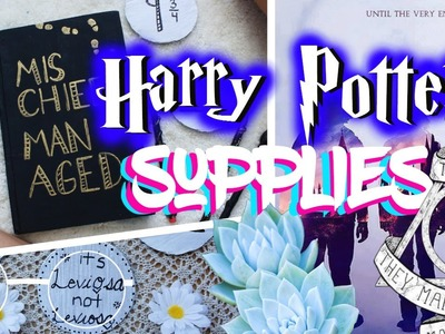 DIY Harry Potter Inspired Back to School Supplies!