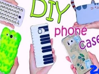 DIY HOT GLUE PHONE CASE FOR GIRLS AMAZING HACK 2016