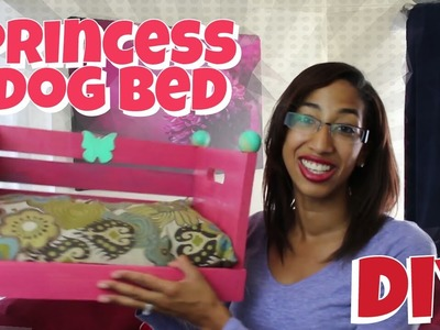 DIY: How to Make a Princess  Dog Bed | Do it Yourself Project