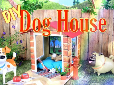 DIY - How to Make:  Doll's Doghouse - Handmade - Crafts