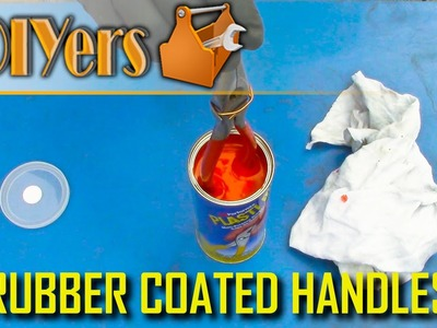 DIY: How to Rubber Dip Handles on Tools