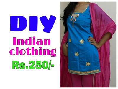 DIY Indian clothing Rs.250(make your own dress)