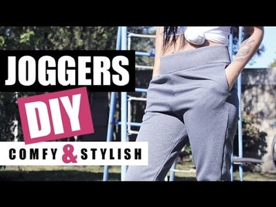 DIY Joggers With Pockets | Loungewear | Yoga.Gym Pants | Comfy & Stylish | Raylene Harvey