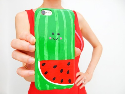 DIY Kawaii Watermelon Phone Case