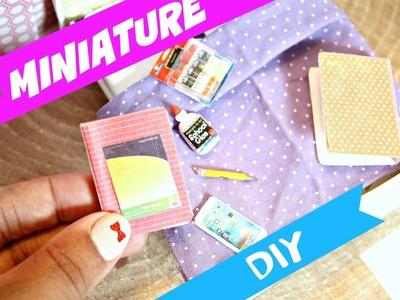 DIY Miniature Binder | Back to School DIY