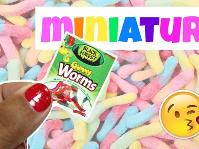 DIY Miniature Gummy Worms