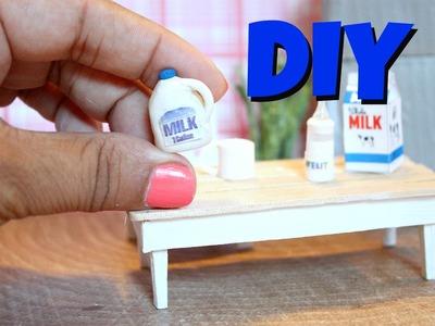 DIY Miniature Milk