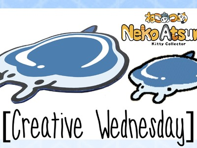 "DIY NEKO ATSUME ""MANTA GEL MAT"" INSPIRED MOUSEPAD! (FREE TEMPLATE!) [CREATIVE WEDNESDAY]"