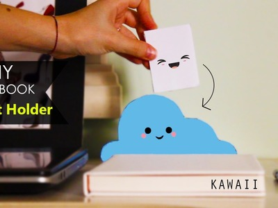 DIY Notebook ☁ Portamemo | Post-it Holder - Nuvola Cloud KAWAII