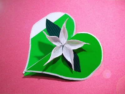 DIY Pakistan's Independence Day card! Easy gift card.