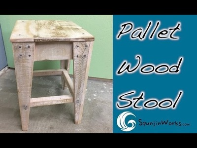 DIY Pallet Stool. How-To (Ep. 53)
