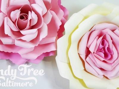 DIY Paper rose backdrop tutorial   Lesson 2