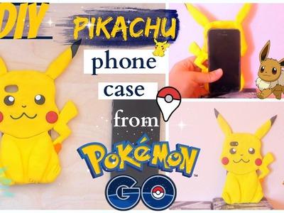 DIY.Pikachu phone case tutoria| Pokemon GO!
