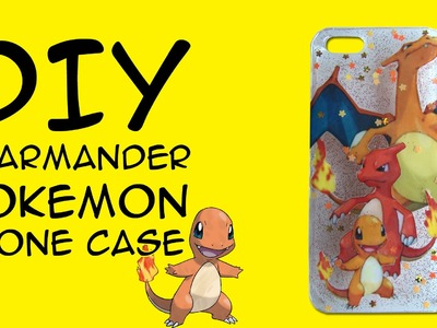 DIY Pokemon Charmander Evolution Resin Phone Case: COLLAB with Cheeky Melon & Crafty McFangirl