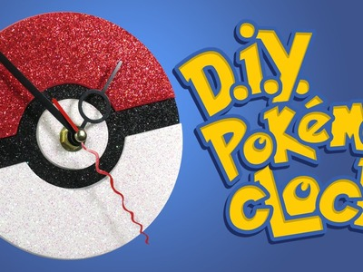 DIY Pokémon Clock - Fun and Easy Crafts for Pokemon Go Geeks!