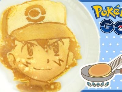 DIY Pokemon Pancake Art - Pokemon GO