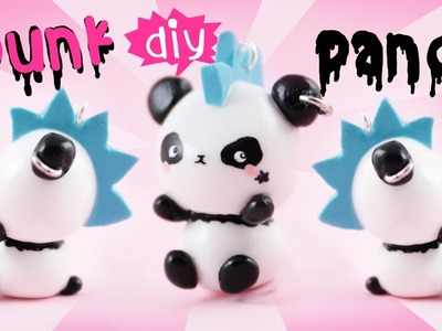 ☆ DIY Punk Panda in Clay ☆ | Kawaii Friday