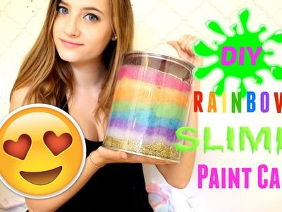 DIY Rainbow Slime Paint Bucket