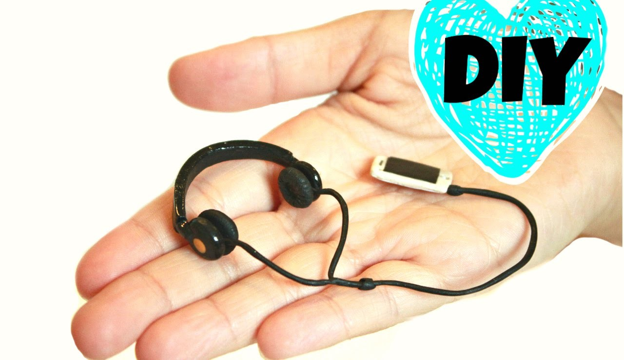 DIY Realistic Miniature Headphones