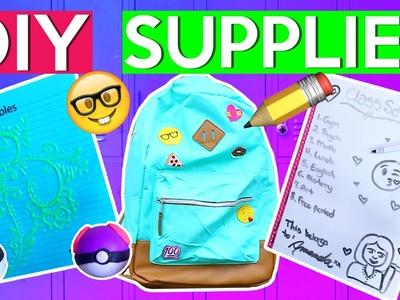 DIY School Supplies! | #BTSwithAmanda