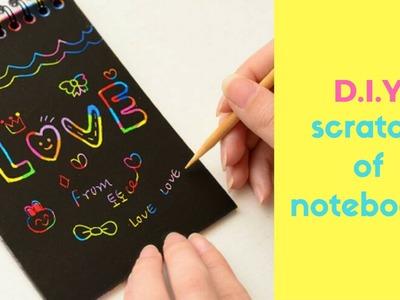 DIY Scratch-Off Notebook