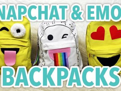 DIY Snapchat & Emoji Backpacks - HGTV Handmade
