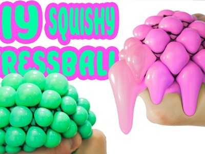 DIY Squishy Stress Ball | How To Make Super Easy Squishy Stressball