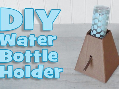 DIY Standing Water Bottle Holder by Hammy Time