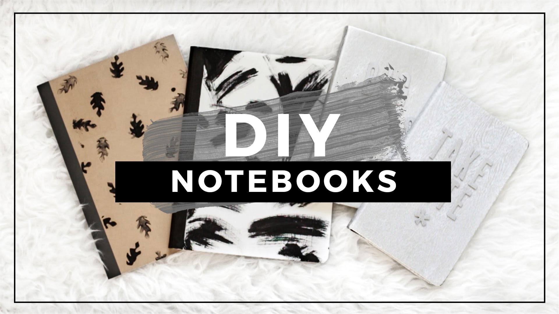 DIY Tumblr Notebooks for Back to School! Easy DIY School ...