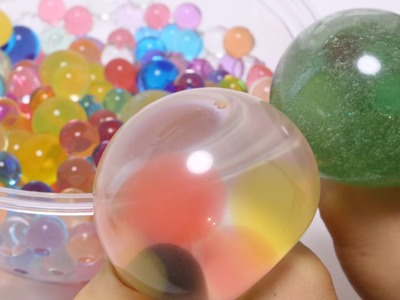 Diy Water Squeeze Toy Water Crystal Orbeez
