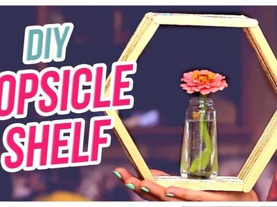 Do It, Gurl – DIY Popsicle Shelves