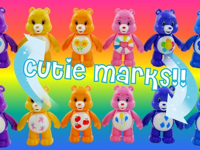 Easy DIY Customize Care Bears Belly Badges into My Little Pony Cutie Marks
