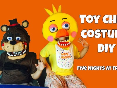 Five Nights at Freddy's: How to make a 'Toy Chica Costume' DIY