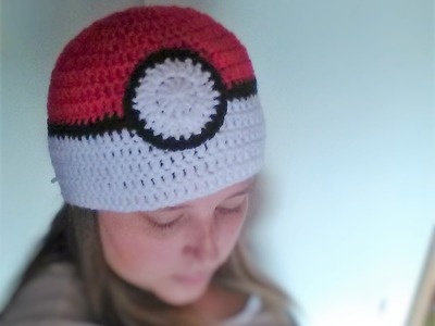 Gotta wear 'em all - How to crochet a pokéball beanie